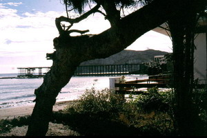View of Hornillo Pier
